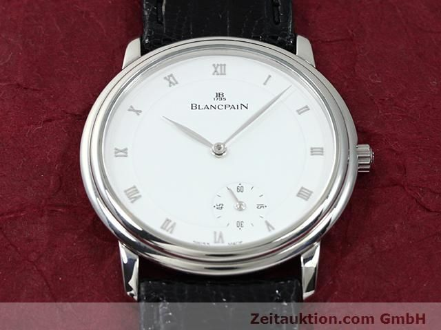 Used luxury watch Blancpain Villeret steel automatic Kal. 71  | 140262 16