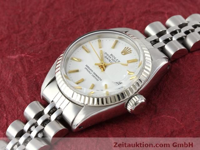 Used luxury watch Rolex Datejust steel / gold automatic Kal. 2030 Ref. 6917  | 140263 01