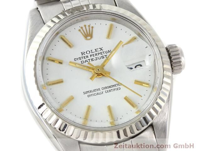 Used luxury watch Rolex Datejust steel / gold automatic Kal. 2030 Ref. 6917  | 140263 02
