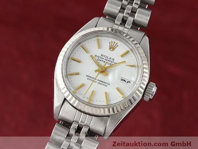 Used luxury watch Rolex Datejust steel / gold automatic Kal. 2030 Ref. 6917  | 140263 04