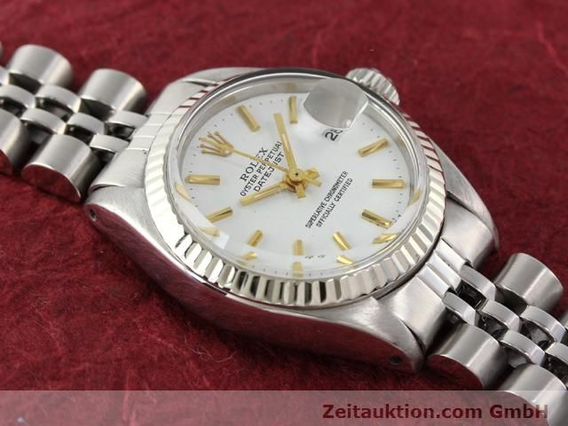 Used luxury watch Rolex Datejust steel / gold automatic Kal. 2030 Ref. 6917  | 140263 14