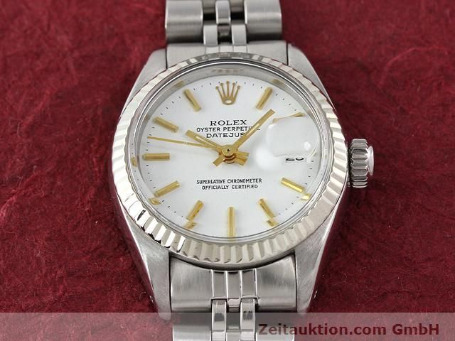 Used luxury watch Rolex Datejust steel / gold automatic Kal. 2030 Ref. 6917  | 140263 15
