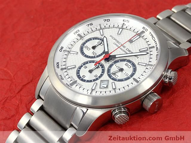 Used luxury watch Porsche Design Dashbord titanium automatic Kal. ETA 2824-2 Ref. 6612.11/13  | 140266 01
