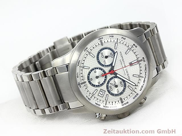 Used luxury watch Porsche Design Dashbord titanium automatic Kal. ETA 2824-2 Ref. 6612.11/13  | 140266 03