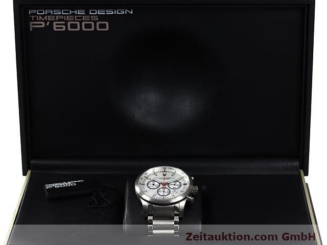 Used luxury watch Porsche Design Dashbord titanium automatic Kal. ETA 2824-2 Ref. 6612.11/13  | 140266 07