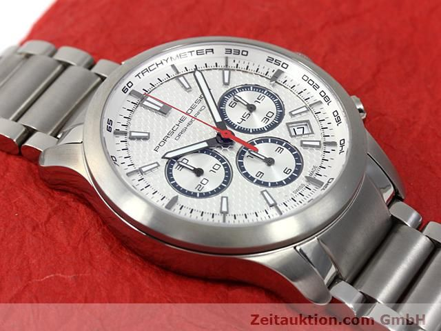 Used luxury watch Porsche Design Dashbord titanium automatic Kal. ETA 2824-2 Ref. 6612.11/13  | 140266 14