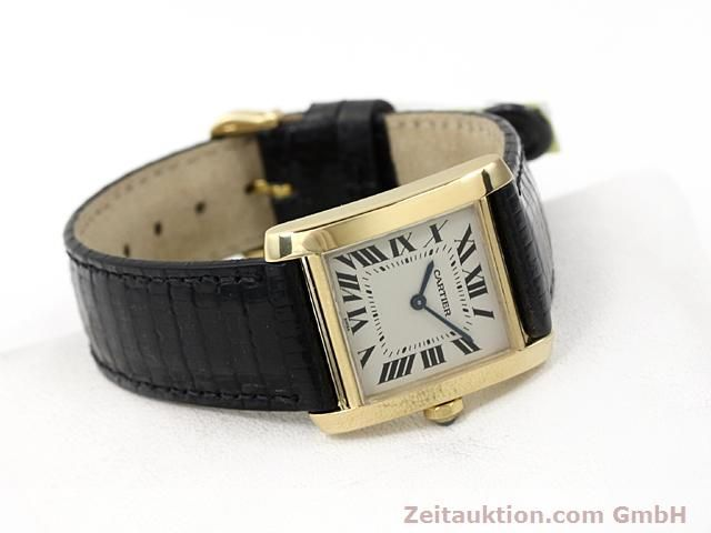 Used luxury watch Cartier Tank 18 ct gold quartz Kal. 157.06  | 140268 03