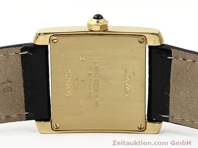 Used luxury watch Cartier Tank 18 ct gold quartz Kal. 157.06  | 140268 09