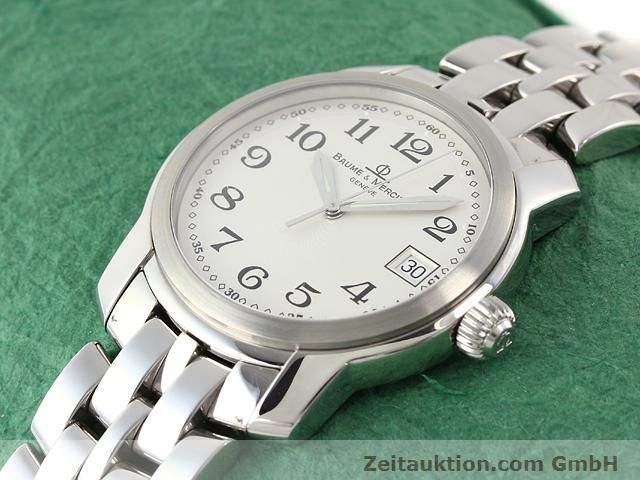 Used luxury watch Baume & Mercier Capeland steel quartz Kal. 11425 (ETA 955112) Ref. MV045214  | 140270 01