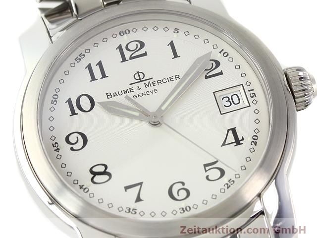 Used luxury watch Baume & Mercier Capeland steel quartz Kal. 11425 (ETA 955112) Ref. MV045214  | 140270 02