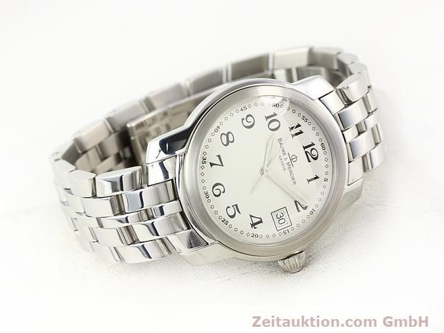 Used luxury watch Baume & Mercier Capeland steel quartz Kal. 11425 (ETA 955112) Ref. MV045214  | 140270 03