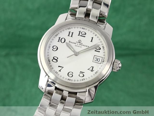 Used luxury watch Baume & Mercier Capeland steel quartz Kal. 11425 (ETA 955112) Ref. MV045214  | 140270 04