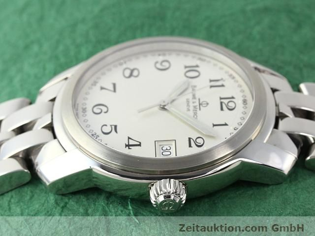 Used luxury watch Baume & Mercier Capeland steel quartz Kal. 11425 (ETA 955112) Ref. MV045214  | 140270 05