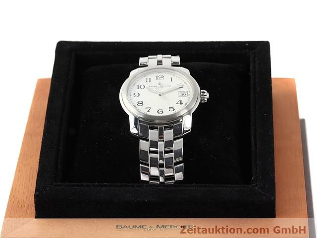 Used luxury watch Baume & Mercier Capeland steel quartz Kal. 11425 (ETA 955112) Ref. MV045214  | 140270 07