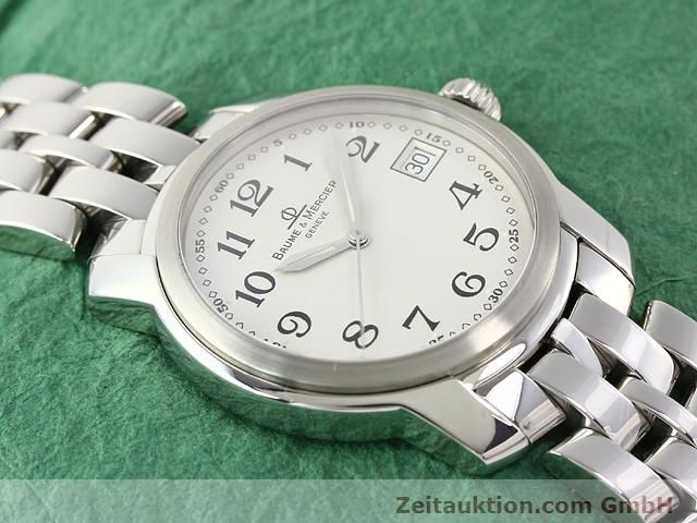 Used luxury watch Baume & Mercier Capeland steel quartz Kal. 11425 (ETA 955112) Ref. MV045214  | 140270 15