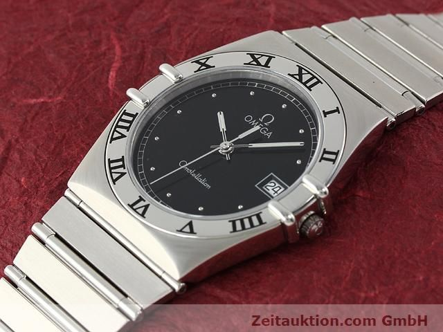 Used luxury watch Omega Constellation steel quartz Kal. 1438 ETA 255461  | 140271 01