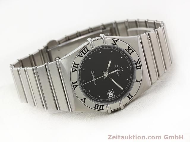 Used luxury watch Omega Constellation steel quartz Kal. 1438 ETA 255461  | 140271 03