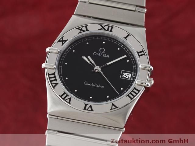 Used luxury watch Omega Constellation steel quartz Kal. 1438 ETA 255461  | 140271 04