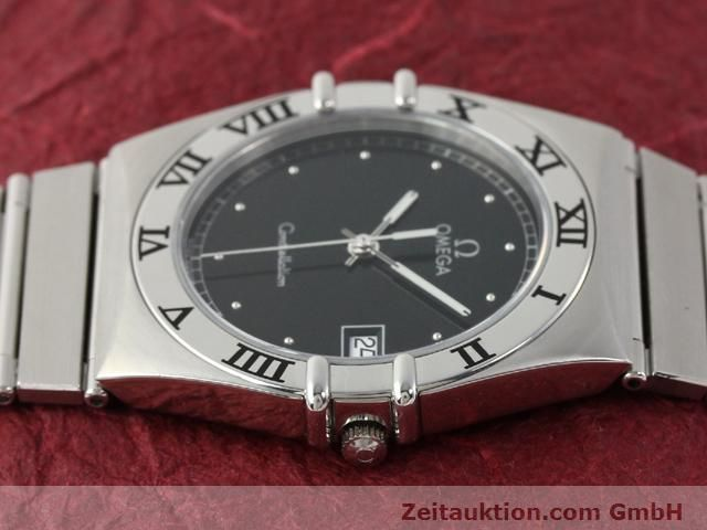 Used luxury watch Omega Constellation steel quartz Kal. 1438 ETA 255461  | 140271 05