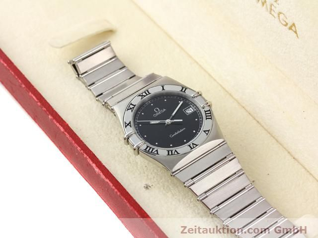 Used luxury watch Omega Constellation steel quartz Kal. 1438 ETA 255461  | 140271 07