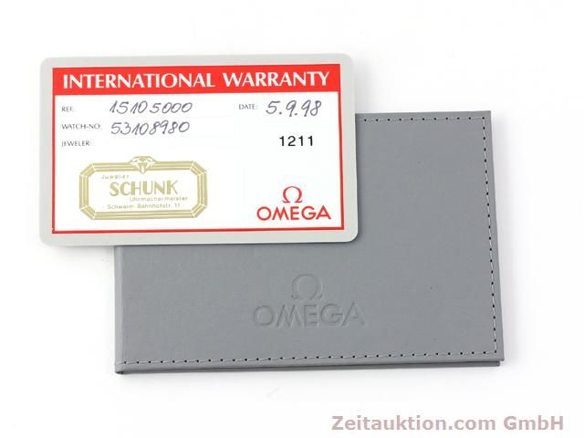 Used luxury watch Omega Constellation steel quartz Kal. 1438 ETA 255461  | 140271 08