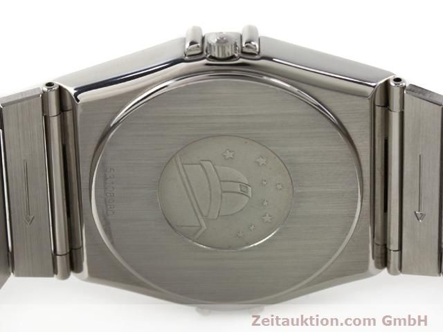 Used luxury watch Omega Constellation steel quartz Kal. 1438 ETA 255461  | 140271 09