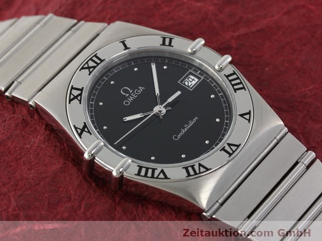 Used luxury watch Omega Constellation steel quartz Kal. 1438 ETA 255461  | 140271 13