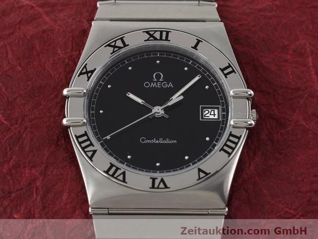 Used luxury watch Omega Constellation steel quartz Kal. 1438 ETA 255461  | 140271 14