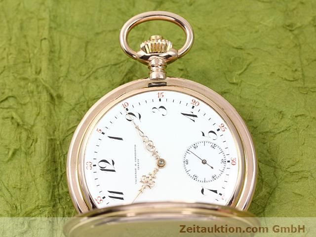 Used luxury watch Vacheron & Constantin Taschenuhr 14 ct red gold manual winding  | 140273 05