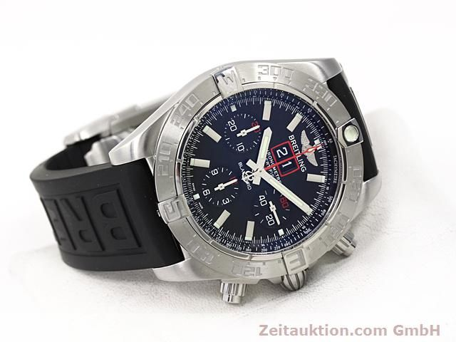 Used luxury watch Breitling Blackbird steel automatic Kal. ETA 2892A2 Ref. A44360  | 140276 03