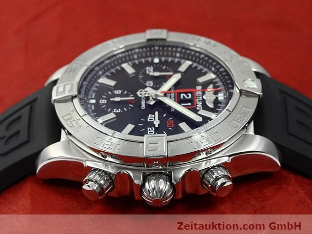 Used luxury watch Breitling Blackbird steel automatic Kal. ETA 2892A2 Ref. A44360  | 140276 05