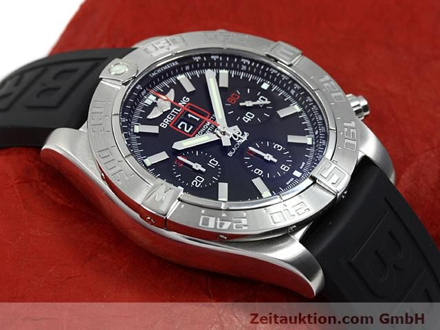 Used luxury watch Breitling Blackbird steel automatic Kal. ETA 2892A2 Ref. A44360  | 140276 14