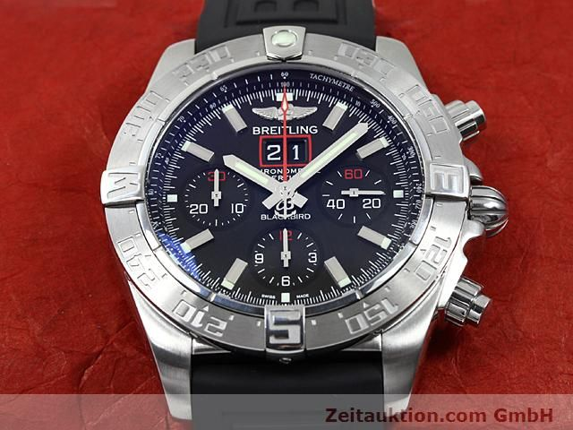 Used luxury watch Breitling Blackbird steel automatic Kal. ETA 2892A2 Ref. A44360  | 140276 15