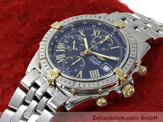 Used luxury watch Breitling Crosswind gilt steel automatic Kal. A.2 ETA 7750 Ref. B13055  | 140277 01