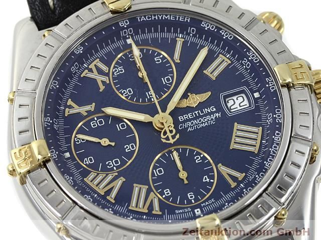 Used luxury watch Breitling Crosswind gilt steel automatic Kal. A.2 ETA 7750 Ref. B13055  | 140277 02