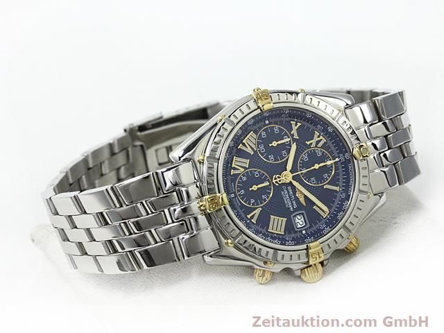 Used luxury watch Breitling Crosswind gilt steel automatic Kal. A.2 ETA 7750 Ref. B13055  | 140277 03