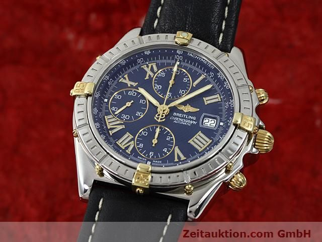 Used luxury watch Breitling Crosswind gilt steel automatic Kal. A.2 ETA 7750 Ref. B13055  | 140277 04