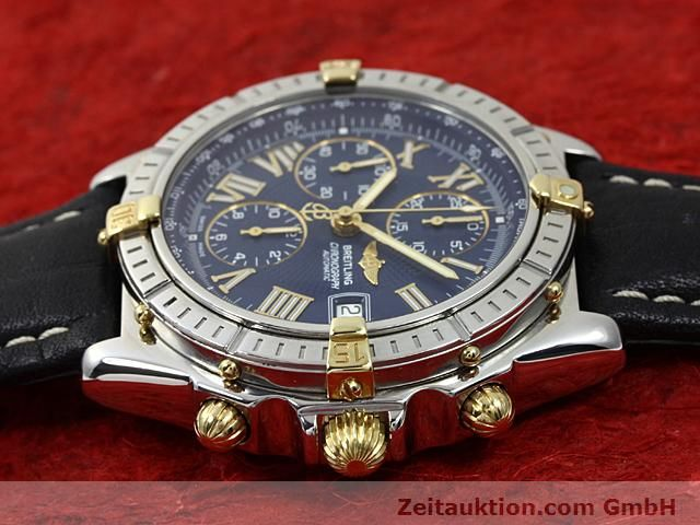 Used luxury watch Breitling Crosswind gilt steel automatic Kal. A.2 ETA 7750 Ref. B13055  | 140277 05
