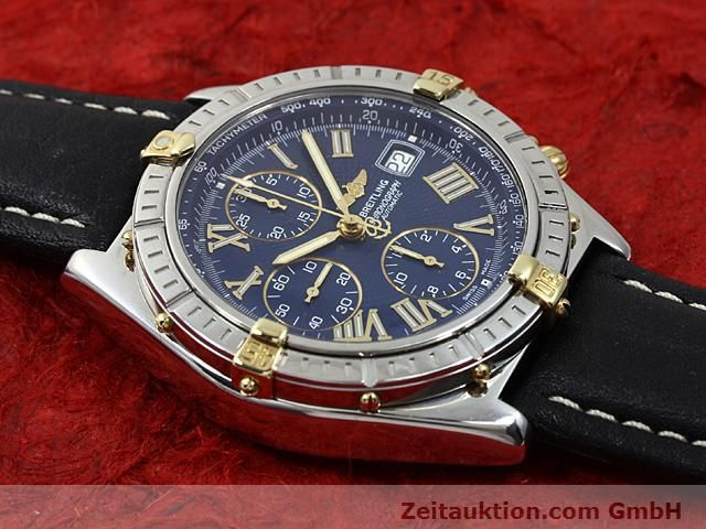Used luxury watch Breitling Crosswind gilt steel automatic Kal. A.2 ETA 7750 Ref. B13055  | 140277 12