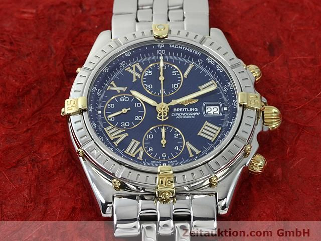 Used luxury watch Breitling Crosswind gilt steel automatic Kal. A.2 ETA 7750 Ref. B13055  | 140277 13