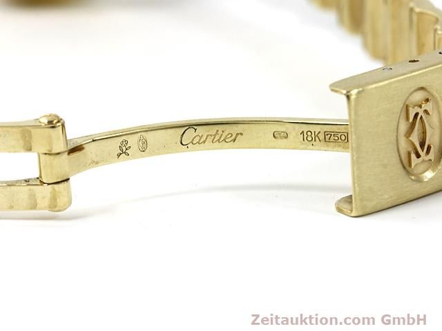 montre de luxe d occasion Cartier Santos or 18 ct automatique Kal. ETA 2671  | 140281 11