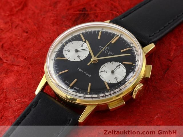 Used luxury watch Breitling Top Time gold-plated manual winding Kal. Venus 188  | 140284 01
