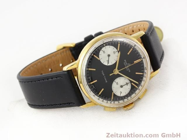 Used luxury watch Breitling Top Time gold-plated manual winding Kal. Venus 188  | 140284 03