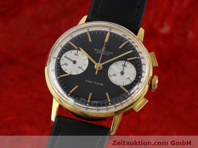 Used luxury watch Breitling Top Time gold-plated manual winding Kal. Venus 188  | 140284 04
