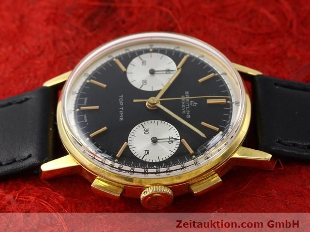 Used luxury watch Breitling Top Time gold-plated manual winding Kal. Venus 188  | 140284 05