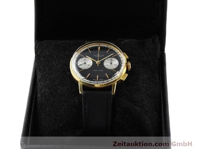 Used luxury watch Breitling Top Time gold-plated manual winding Kal. Venus 188  | 140284 07