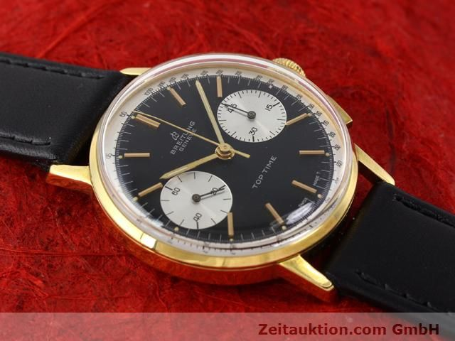 Used luxury watch Breitling Top Time gold-plated manual winding Kal. Venus 188  | 140284 12