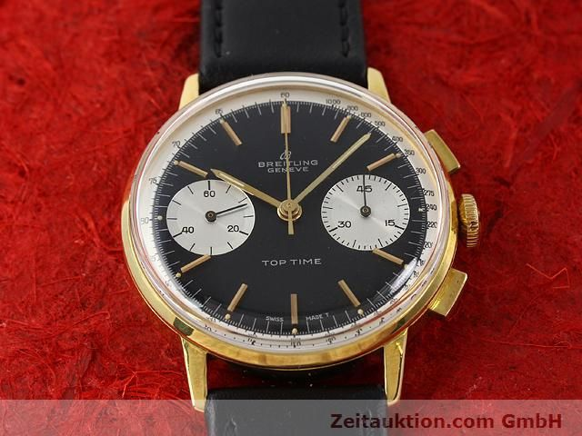 Used luxury watch Breitling Top Time gold-plated manual winding Kal. Venus 188  | 140284 13