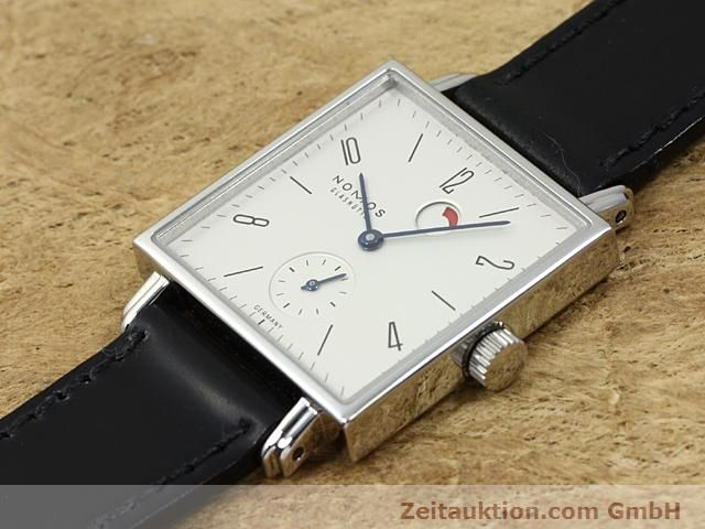 Used luxury watch Nomos Tetra steel manual winding Kal. 2546  | 140290 01