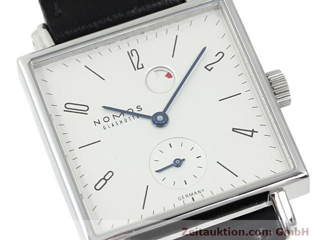 Used luxury watch Nomos Tetra steel manual winding Kal. 2546  | 140290 02